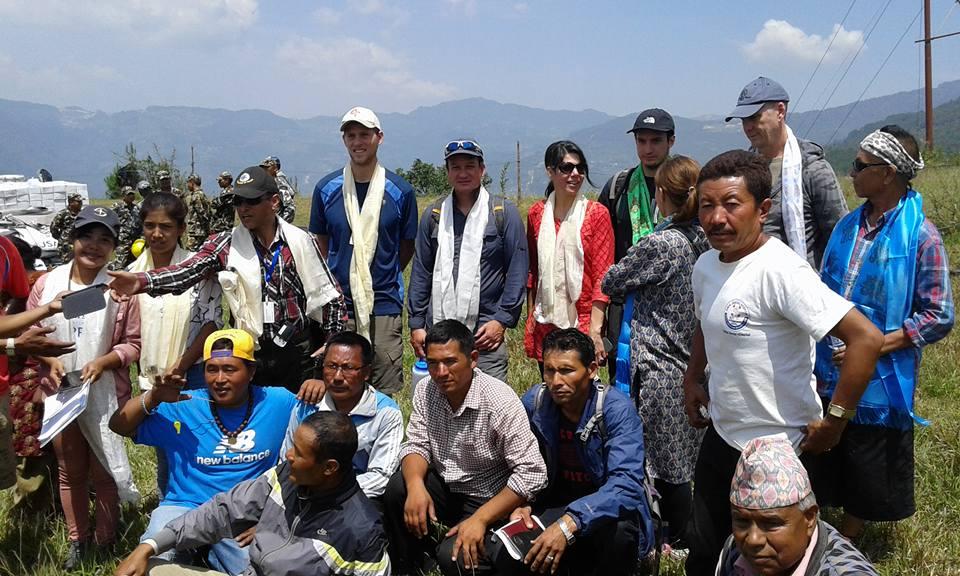 Cliff Graham in Nepal
