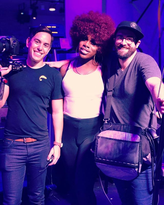 Another sweaty episode is wrapped with @monetxchange at @switchplaygroundnyc ! Stay tuned for our latest, healthiest web series YET! #workout #youareman #butyoufeellikeawoman #lacefrontsquats #dragrace #rupaulsdragrace #spongelife