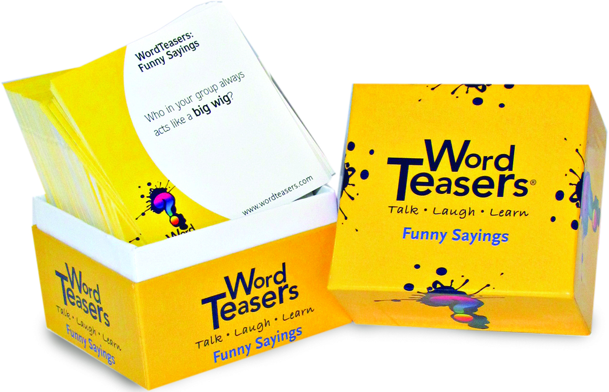 Word Teasers  - A little box of questions that spark big conversations and learning