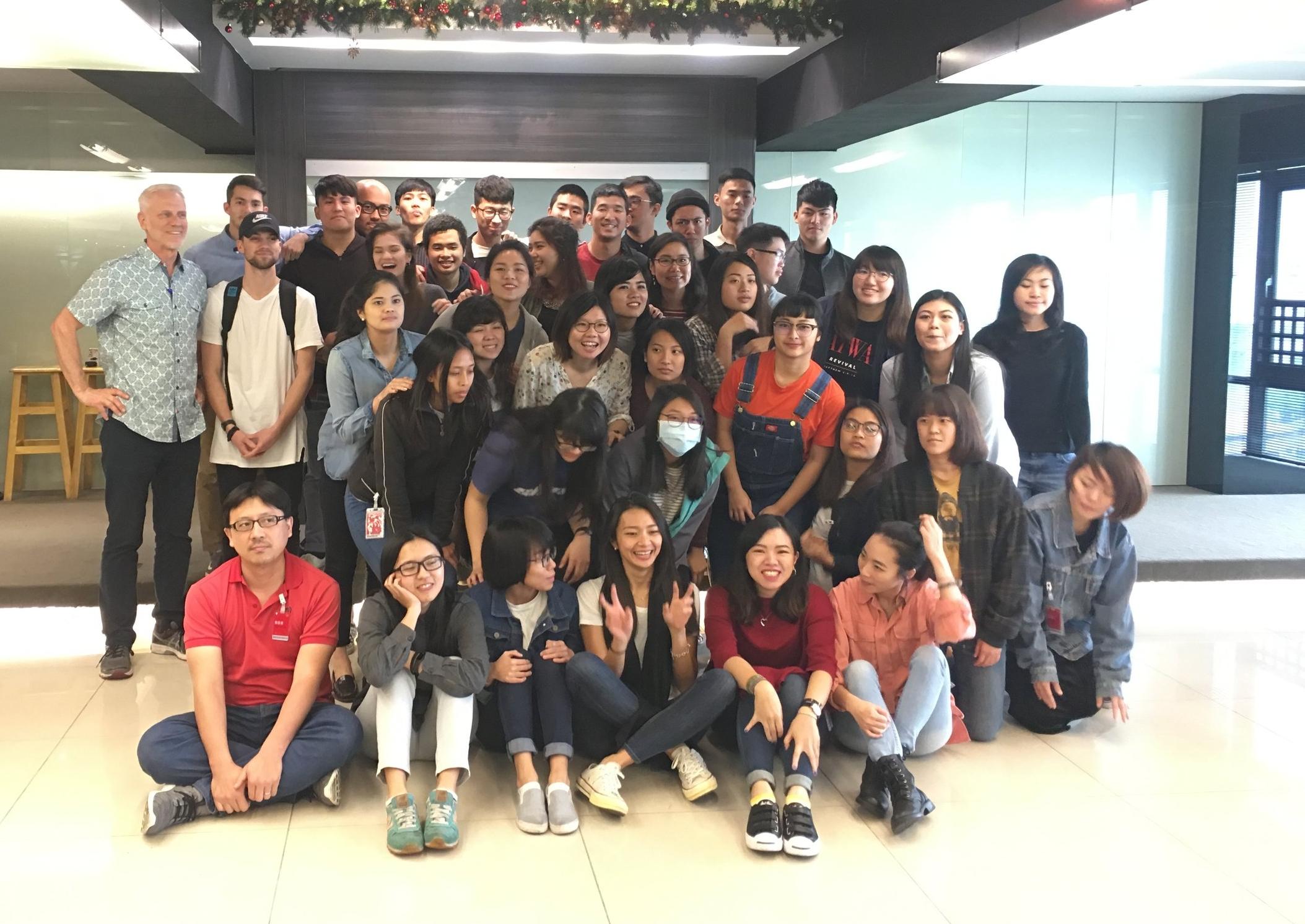 Forerunner leadership institute students -