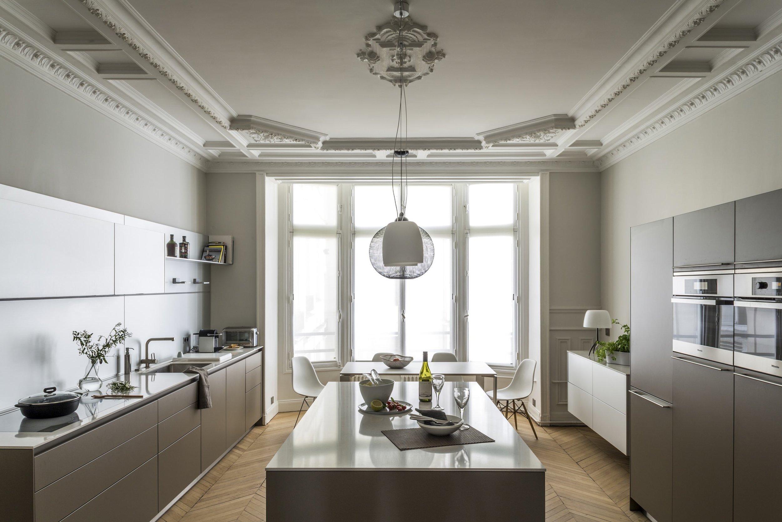 Plan de Travail Ilôt Cuisine Marbre Art & Décoration Omni Marbres