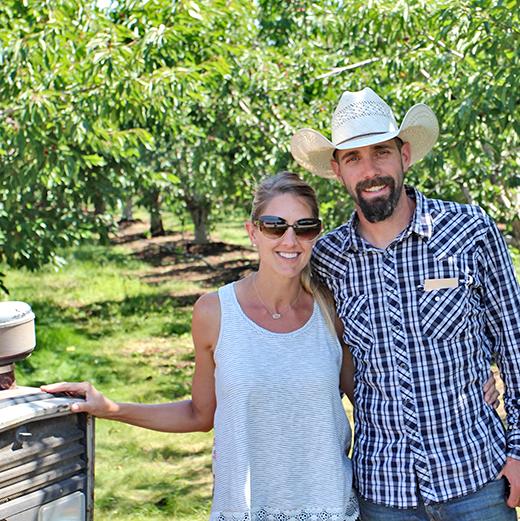 Mary and Chris Borello of Borello Farms Third Generation Santa Clara Valley Farmers
