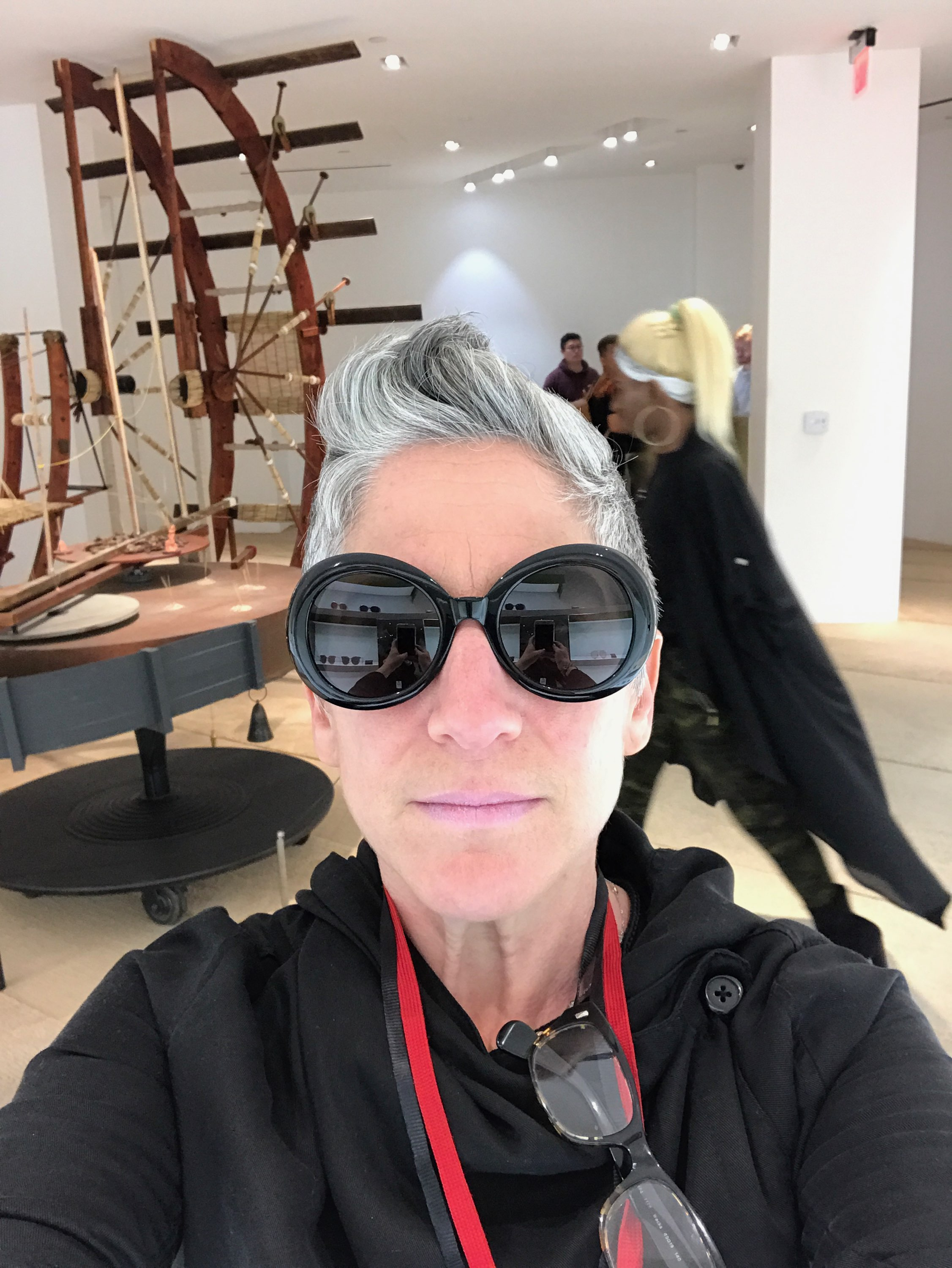 """MICHELLE STERN (Associate Producer) was the co-founder/producer of GAle GAtes et al., the line producer of """"Curran Under Construction"""" in SF, producer of the world's first mind-controlled flying experience, The Ascent, (by Yehuda Duenyas), and was the COO of its parent company, Mindride, winning a 2016 Emmy Award for their work on the PSA, """"Love Has No Labels."""" She was line producer & company manager for Taylor Mac's A 24-Decade History of Popular Music, and produced the street installations for Diana Oh's {my lingerie play}. She's worked with Julie & Mat since 2014."""