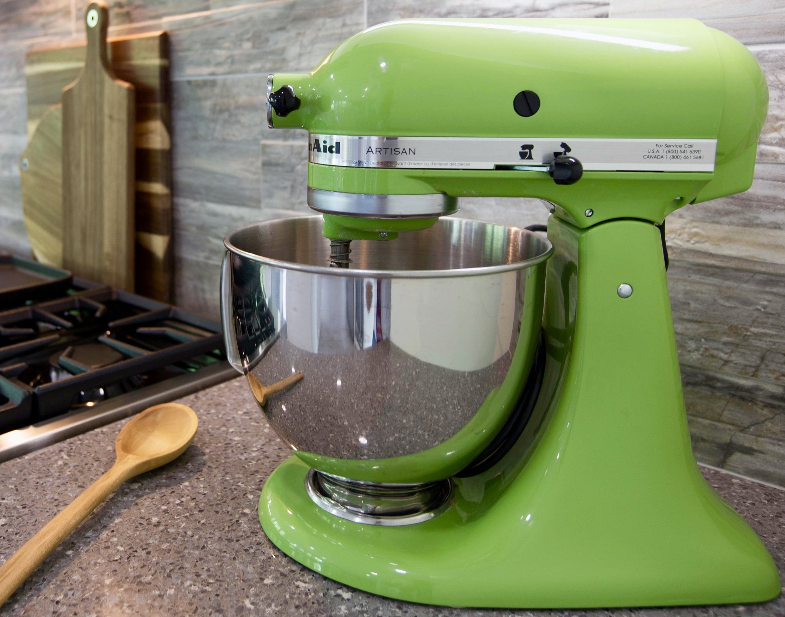 KitchenAid Artisan Mixer-Kitchen Design-Kitchen Renovation-Style Maven Decor Interior Design-Edmonton Canada