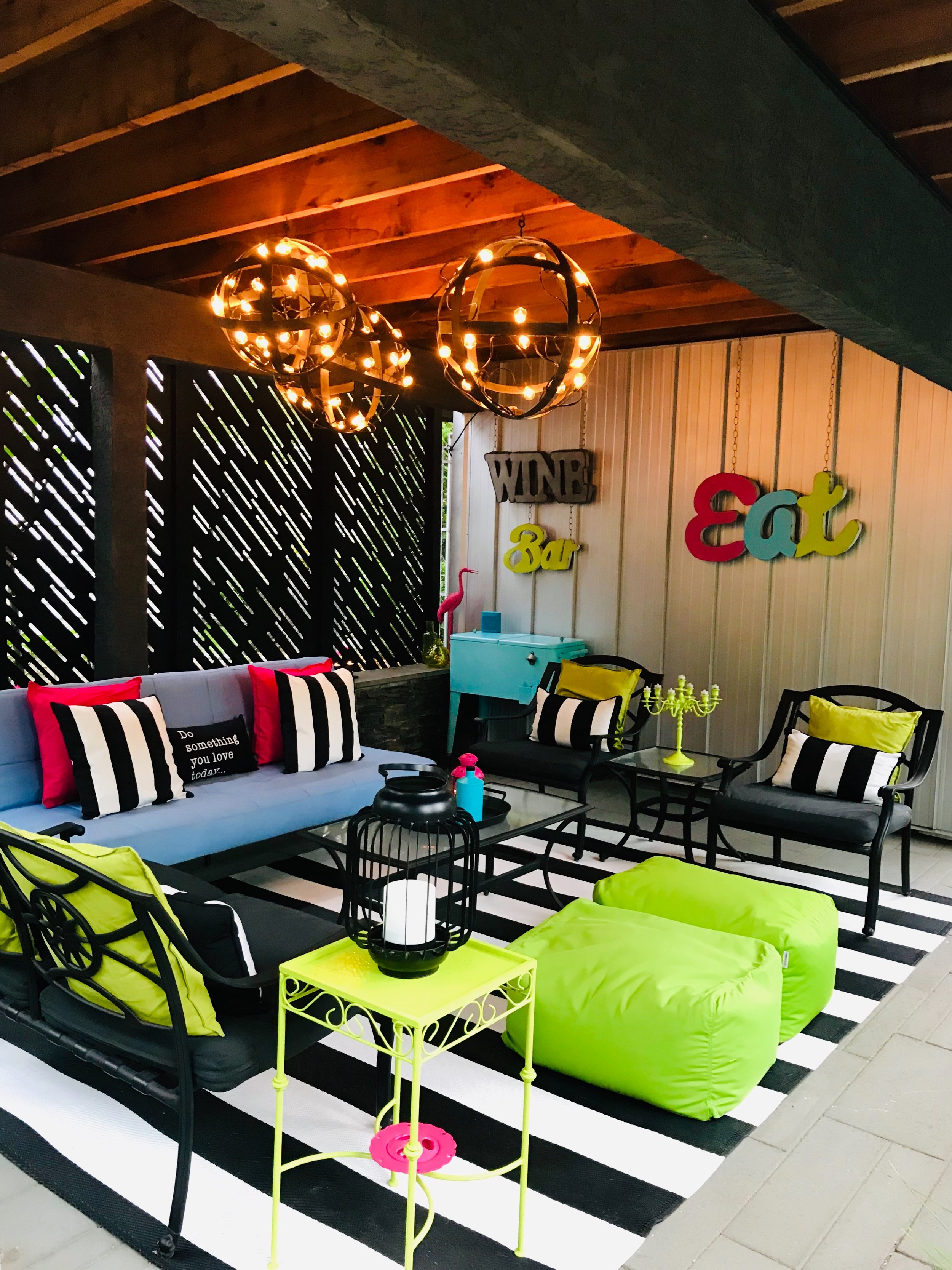 Underground Chill Lounge-Wine Bar-Patio Furniture-Style Maven Decor Interior Design-Edmonton Canada