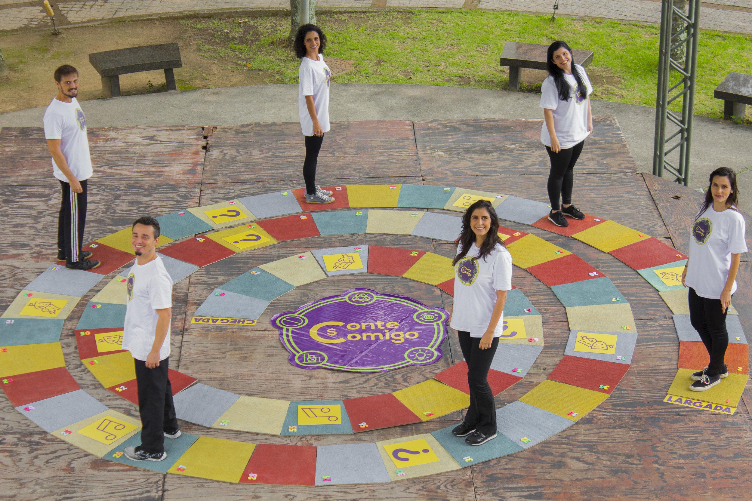 Conte Comigo! + Jogo de Tabuleiro - Espetáculo teatral sobre 5R's do Consumo Consciente + Jogo de Tabuleiro sobre tema abordado na peça. (120 min)