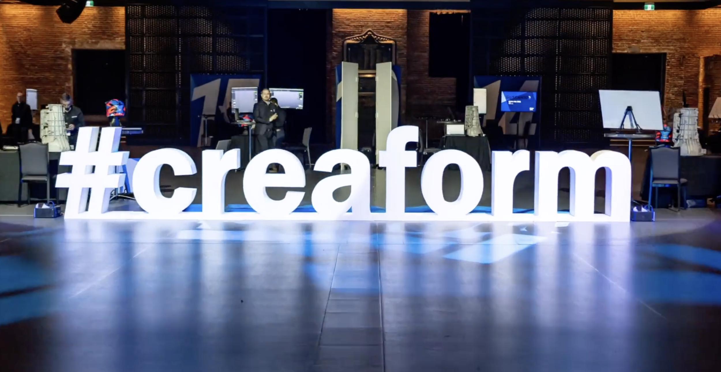 #creaform gigantesque