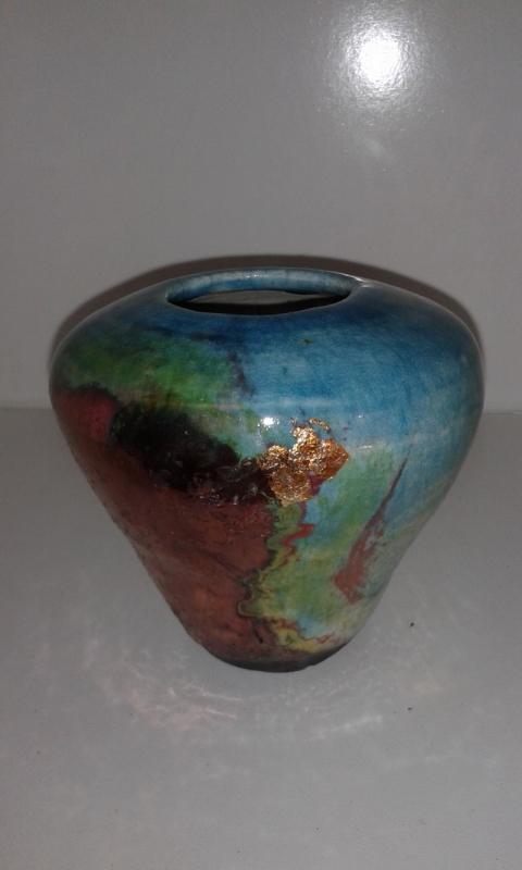 Gold Leaf Bowl