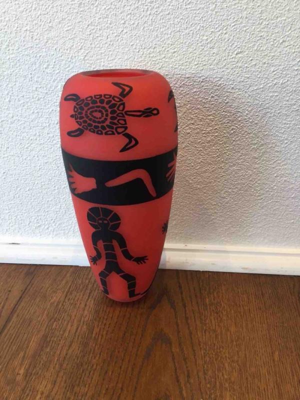 red tribal vase.jpg