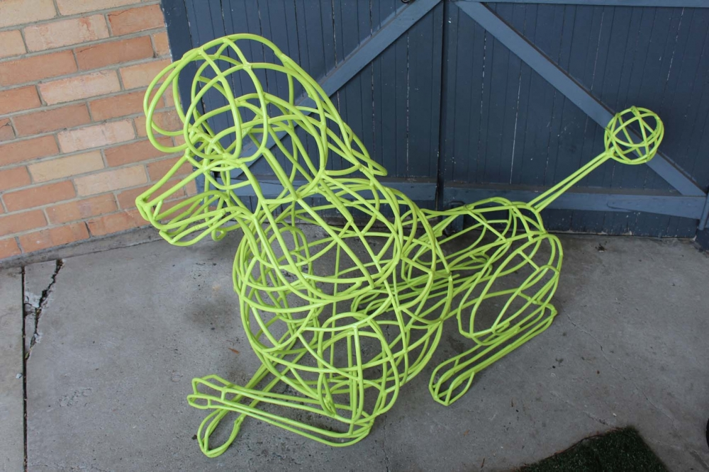 Yellow Poodle