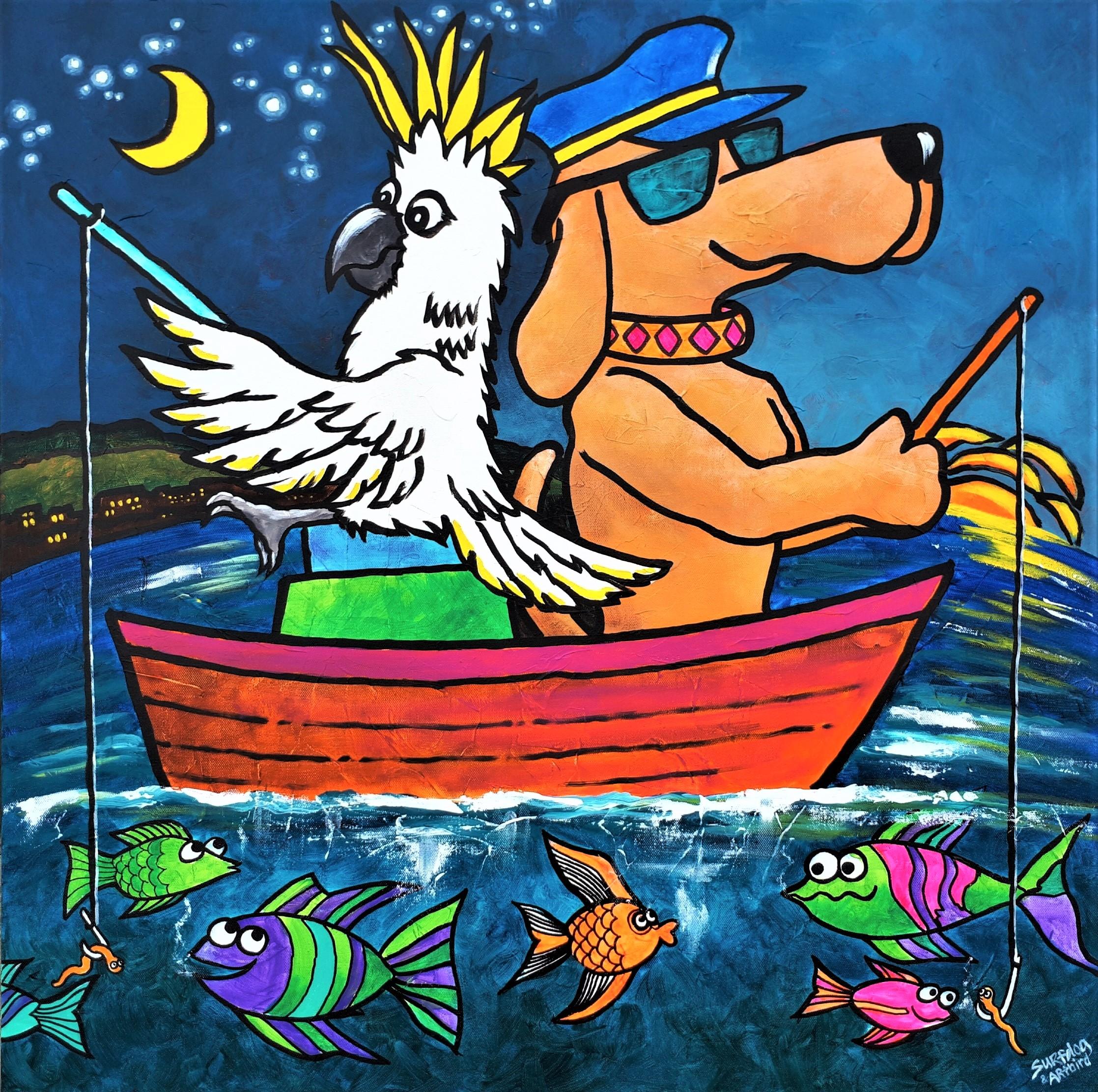 Surfdog and Artbird