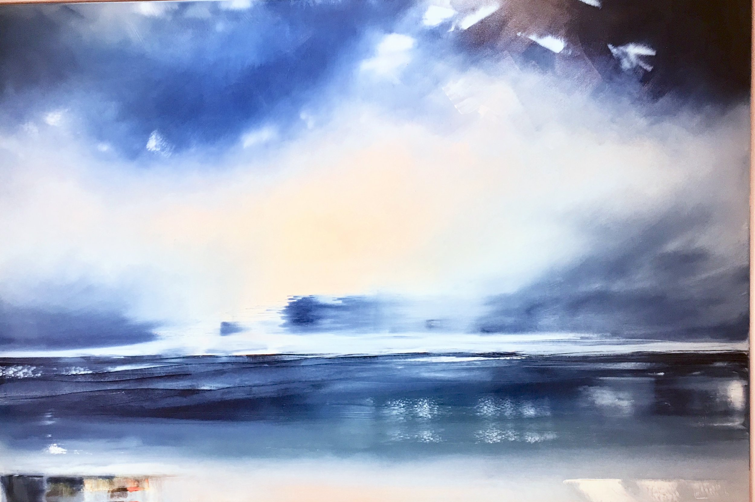 Eternal Blues 150x100cm