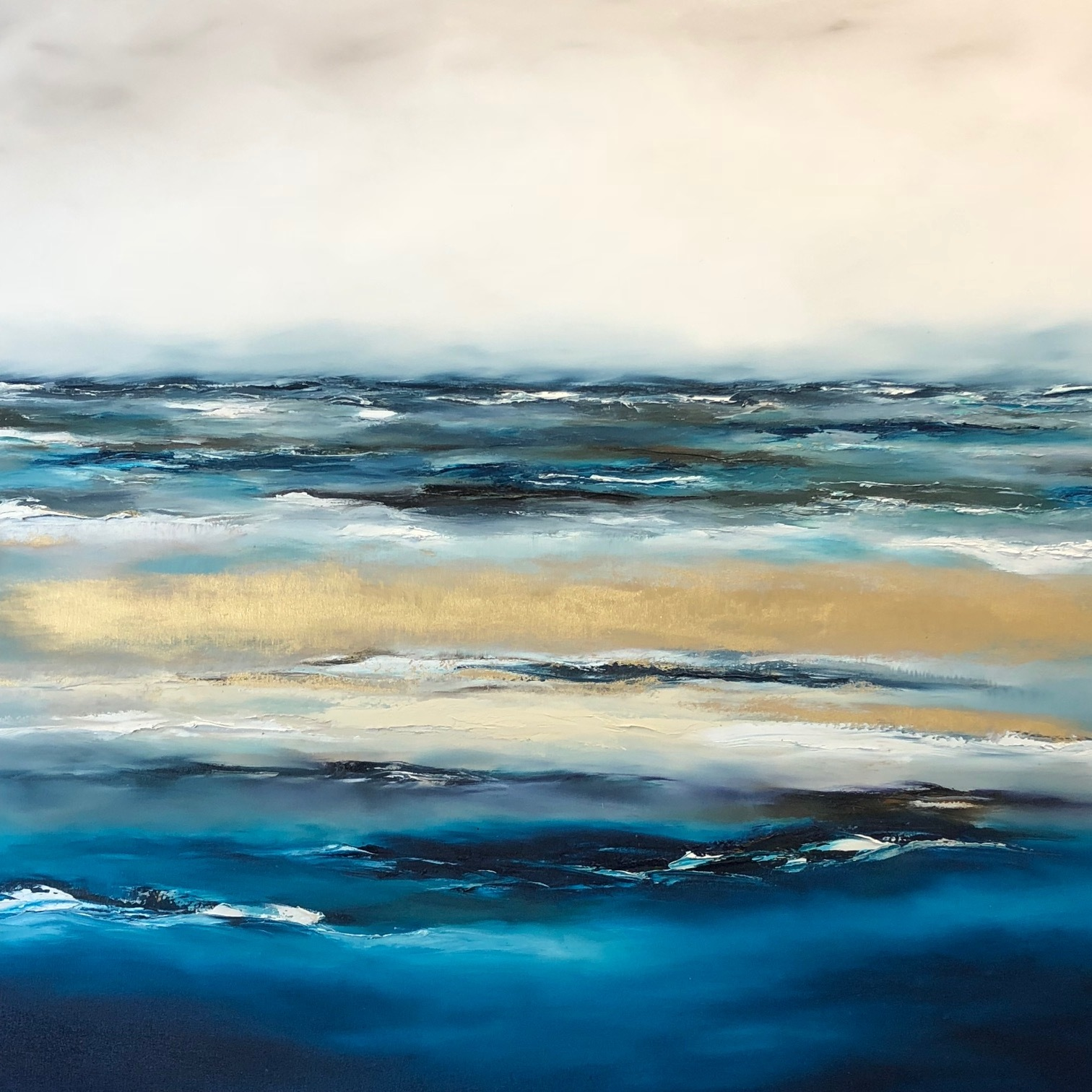 Love you in the Lagoon 170x140cm