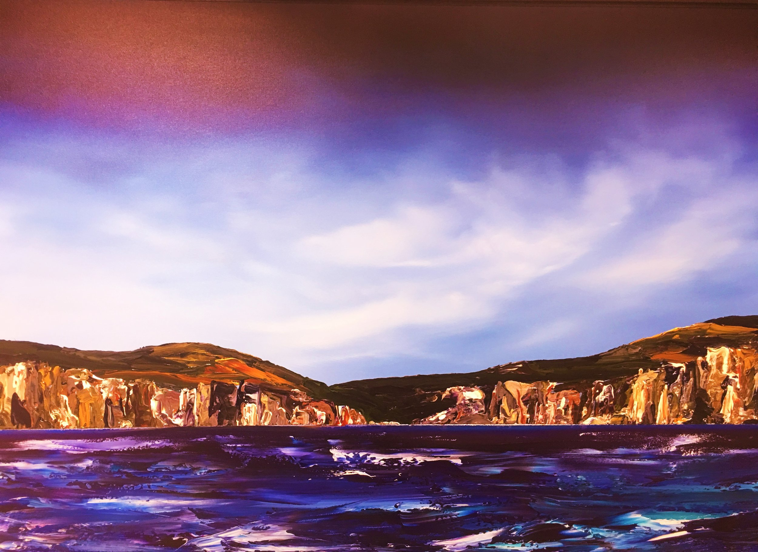 Headlands - 150x100cm