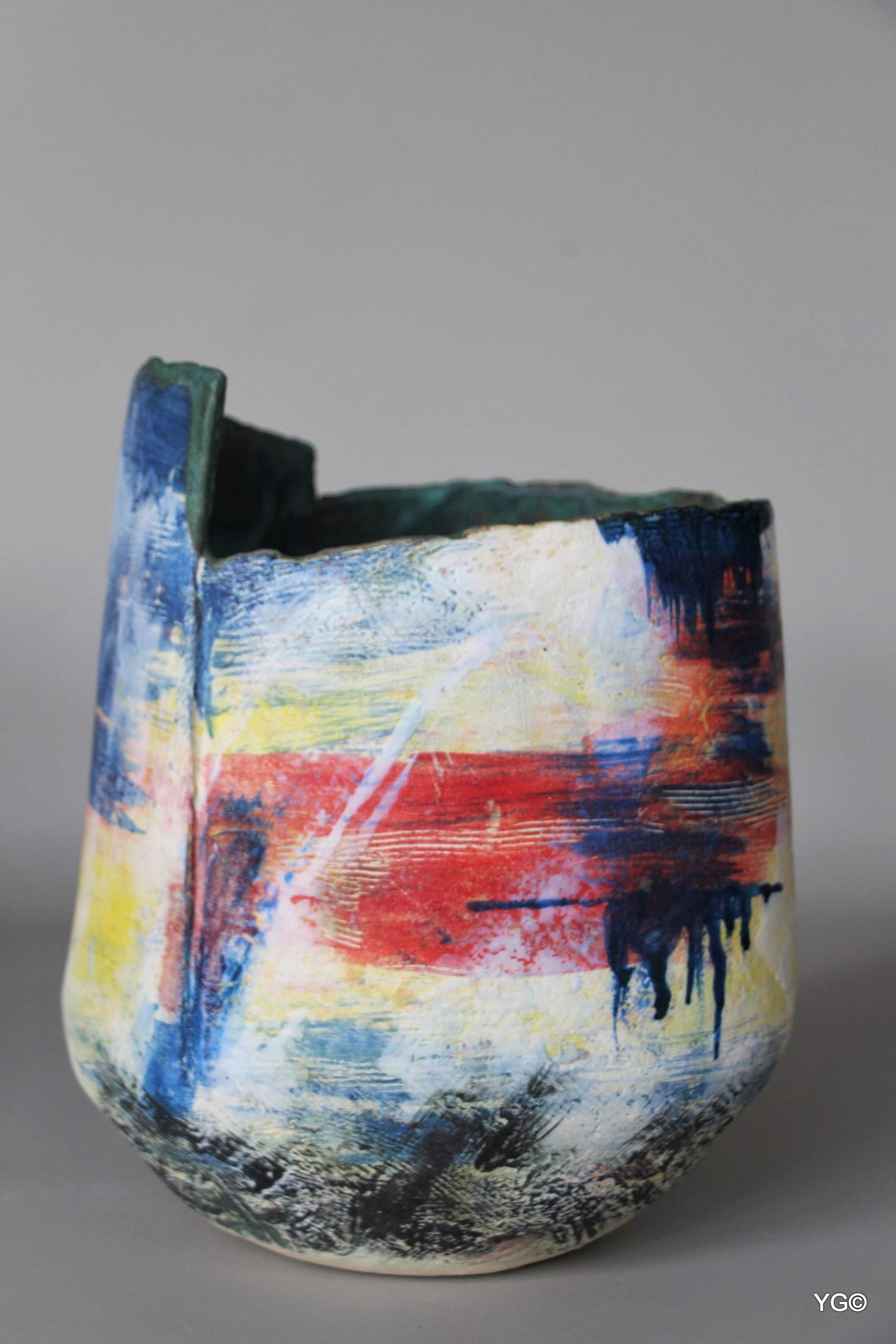 Unknown Landscape 3 - porcelain