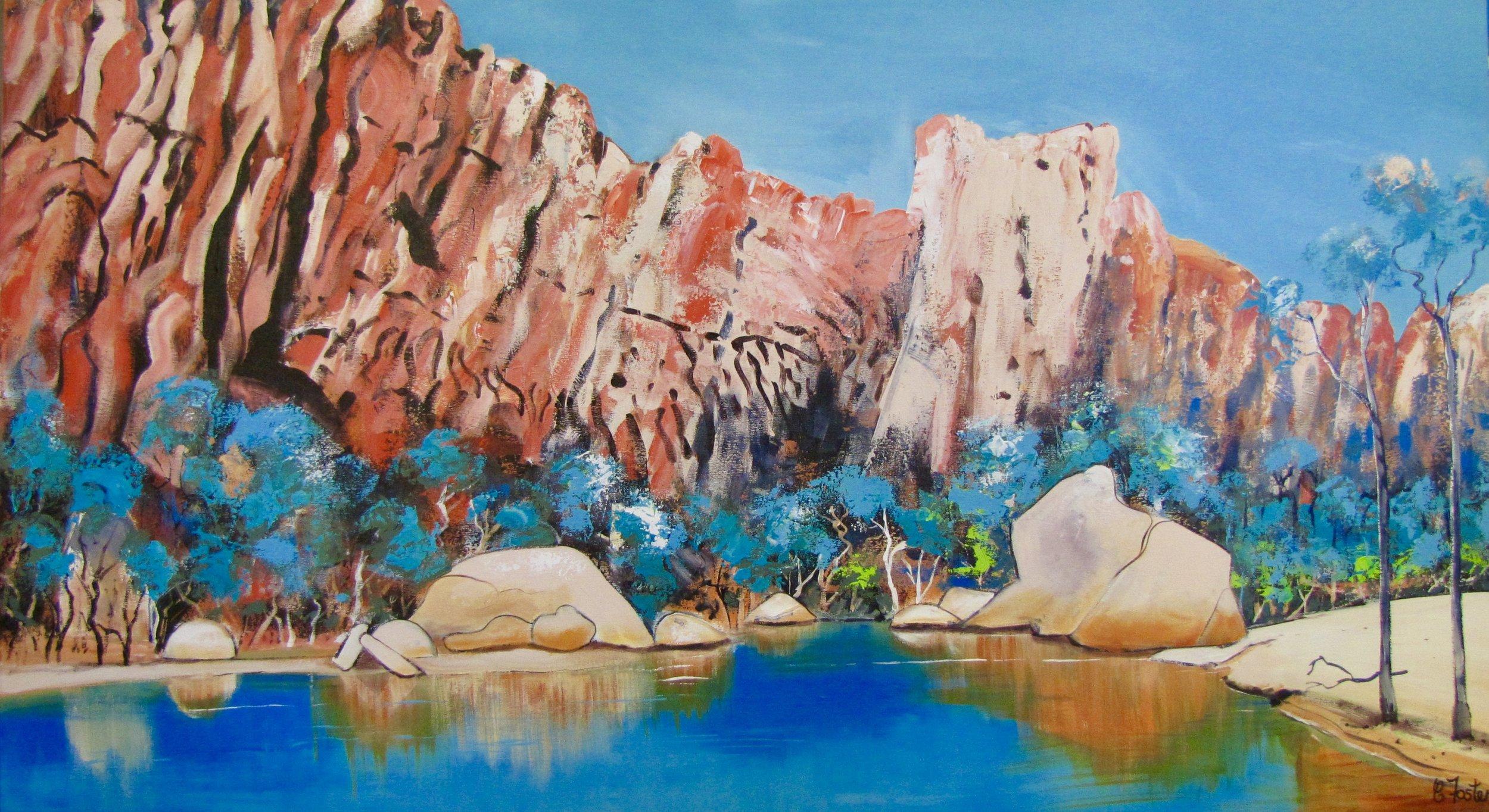 Barnett Gorge 100x180 cm