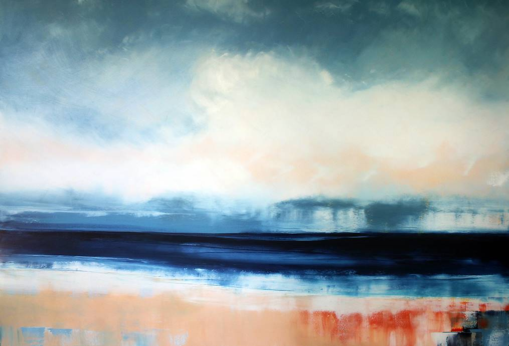 Blue Horizon 180x 120 - Media: Oil