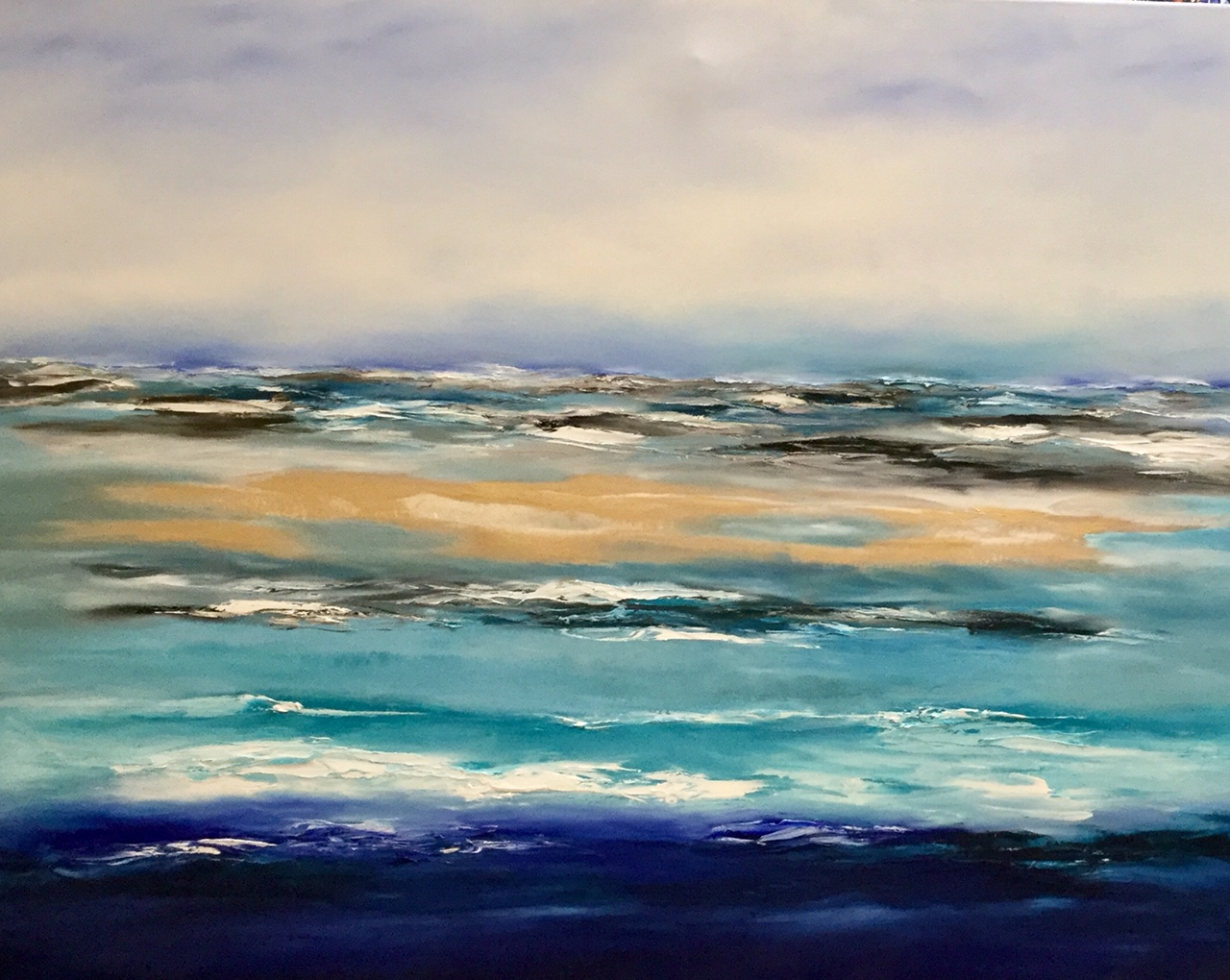 Love Lagoon 150 x120cm