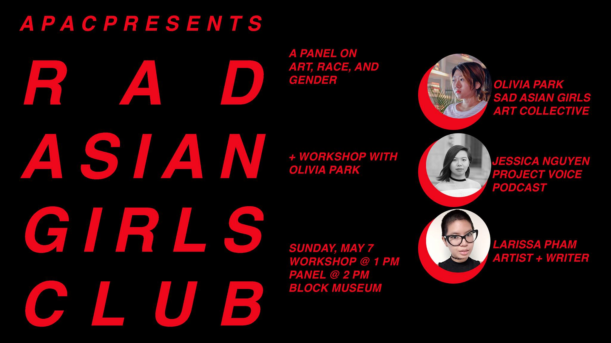 RAD ASIAN GIRLS: A Panel on Art, Race and Gender at Northwestern University - May 17th, 2017