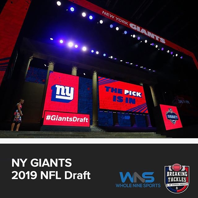 We're baaaaaack! Let's start the 2019-2020 #NYGiants season w/ the 2nd season of @btgiants! Join me as I recap the draft w/ lead scout of @WholeNineSports Branson Olsen #LinkInBio • • #nygiants #newyork #nyc #love #nfldraft #nfl #nfldraft2019 #giants #giantspride #bigblue #elimanning #wholeninesports #breakingtackles #sports #latinos #podcastlife #podcasting #sportspodcast  #sports