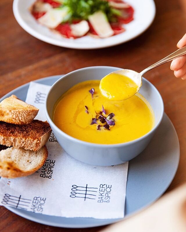 One thing that brings us unparalleled comfort any time of year is a bowl of warm, homemade soup. We always have a pot of seasonal vegetable soup bubbling away on our stovetop, ready to be served with a selection of our homemade bread.