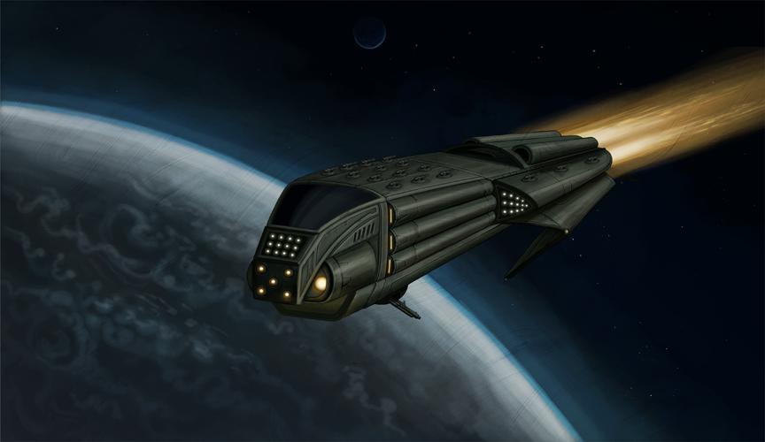 Mroo'shen Battleship
