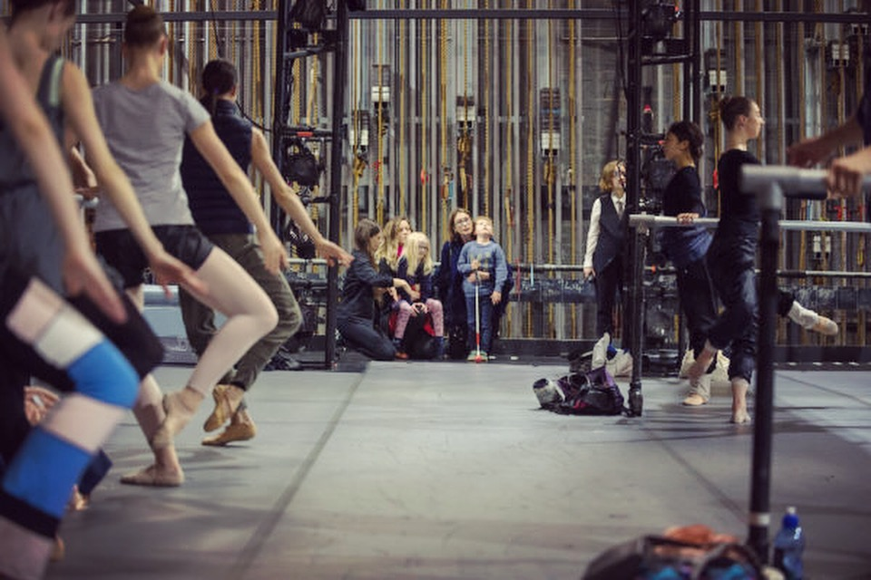 RNZB Touch Tour and Audio Described Performance. Photography: Stephen A'Court.