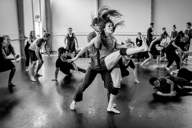 Image © John McDermott for The New Zealand Dance Company.  Creative Wellington couple  Lucy Marinkovich  and  Lucien Johnson  will soon be packing their bags - and in Lucien's case his saxophone - to head to the Big Apple on the  Harriet Friedlander New York Residency.