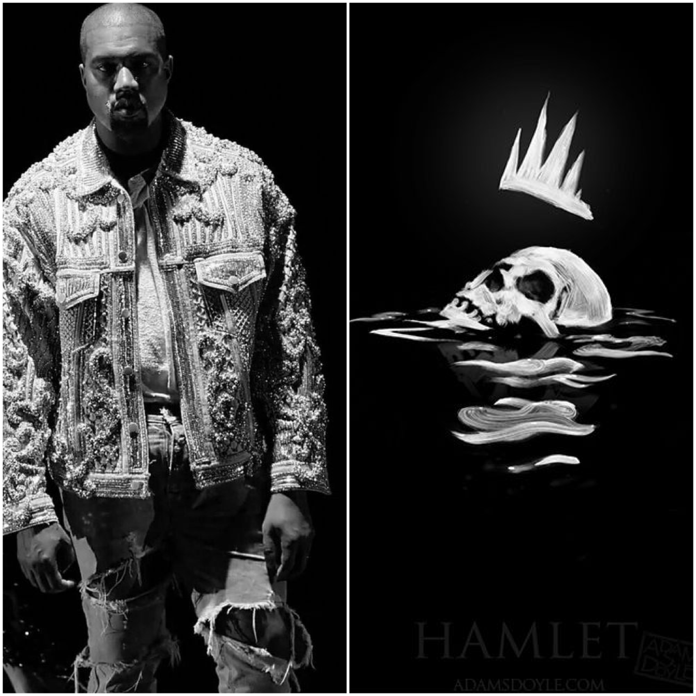 Hamlet v. Kanye - To be, or not to be v. I Thought About Killing You