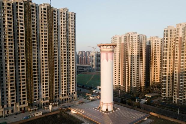 Giant Air Purifier in Xian