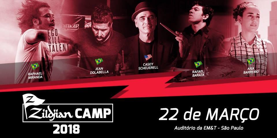 Zildjian Camp 2018/São Paulo-Brazil -