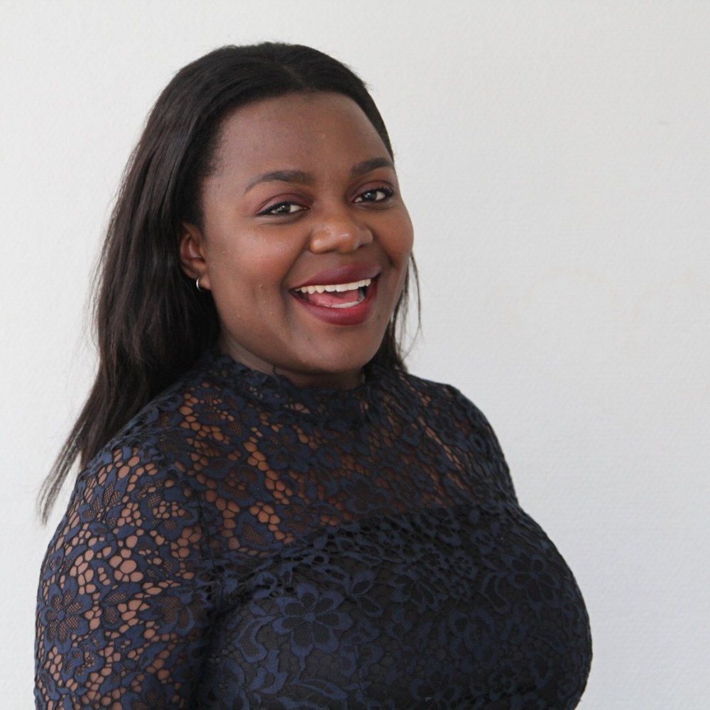 Angela Katumba  Aktivitetsansvarig | Head of Activities   April 2018-Mars 2019