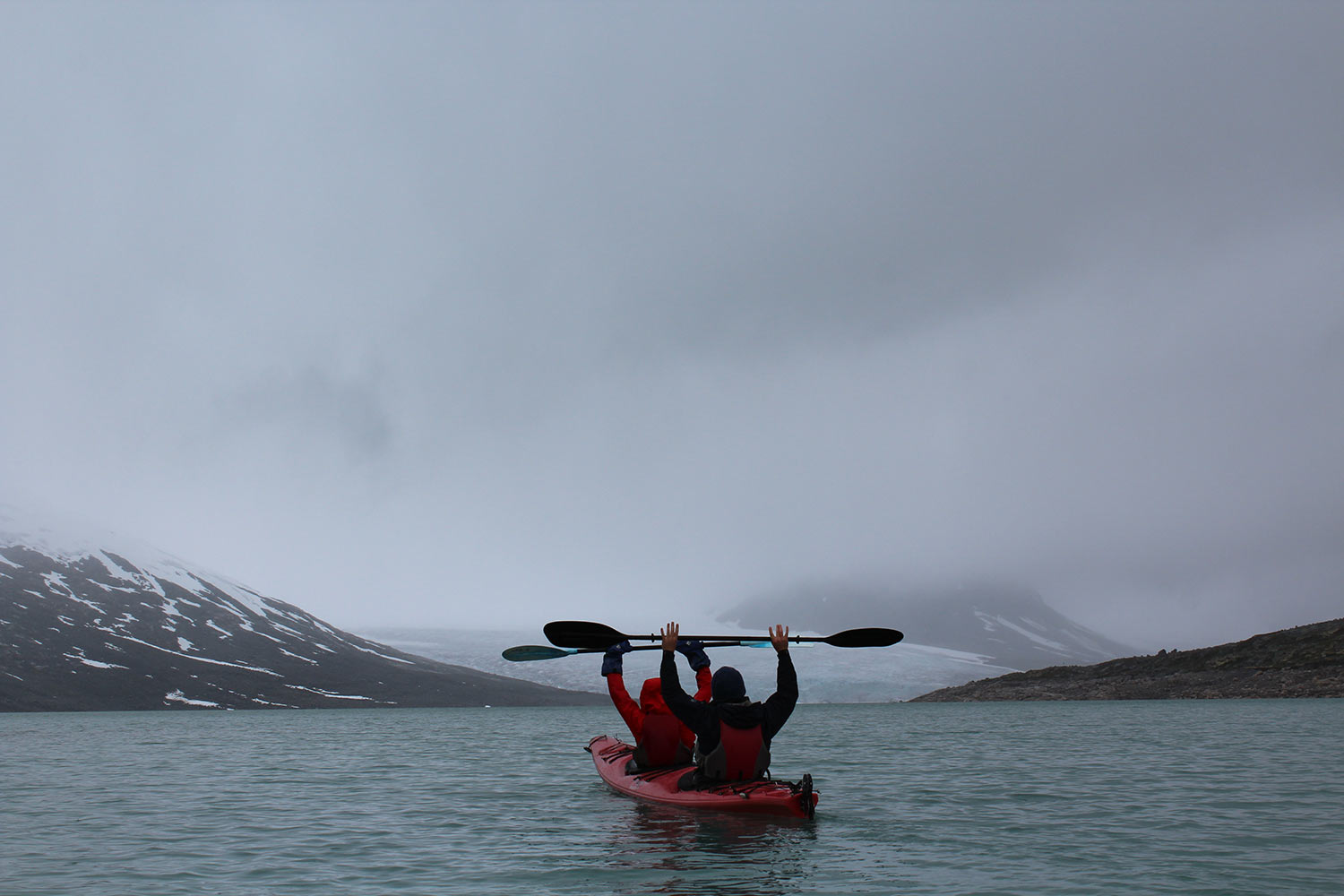 Kayaking at the glacier on holiday in Norway.jpg