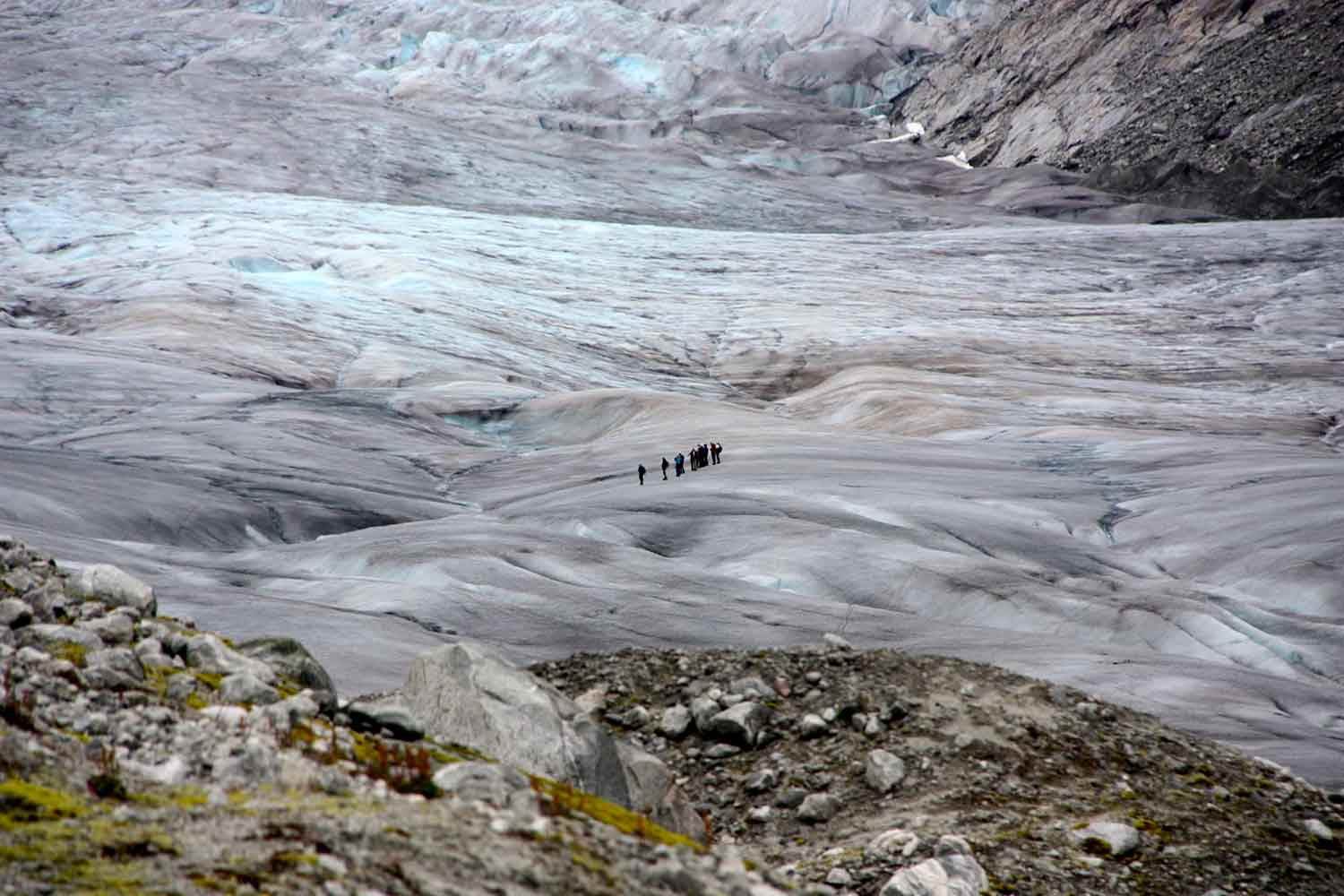 Glacier walking in Jostedalsbreen National Park.