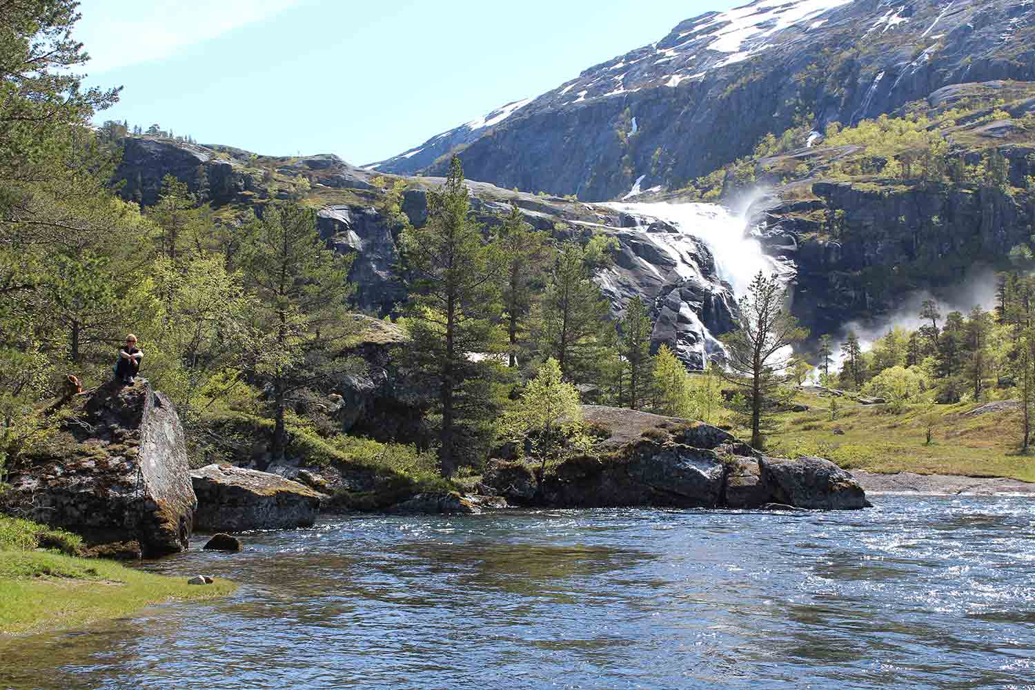The Waterfall Walk Hardangerfjord Norway