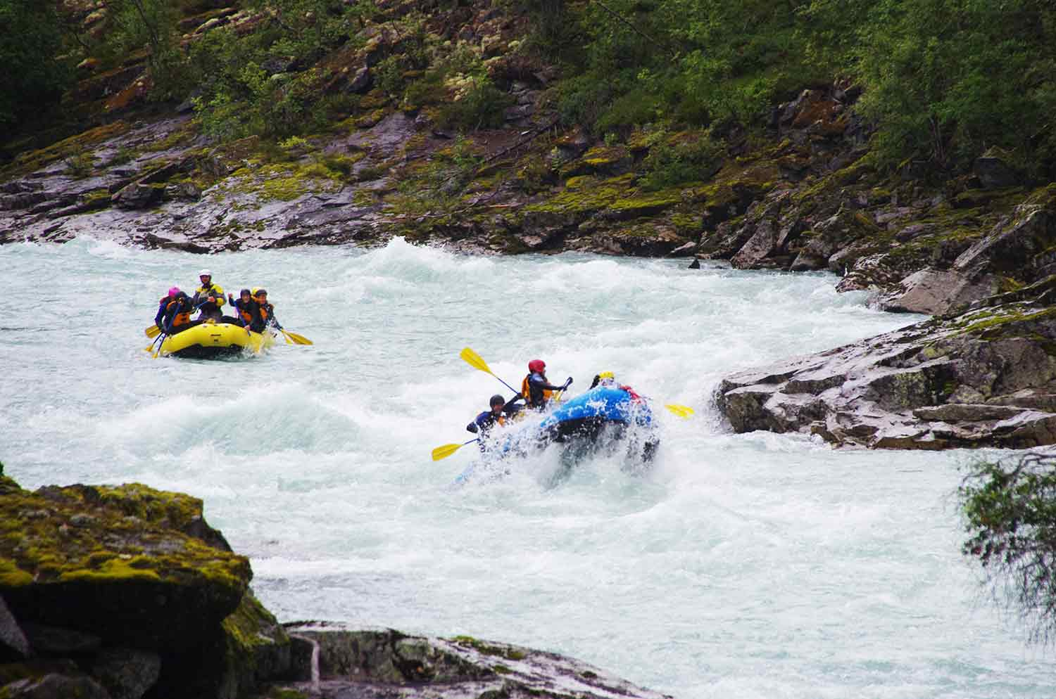 Rafting in Jostedal