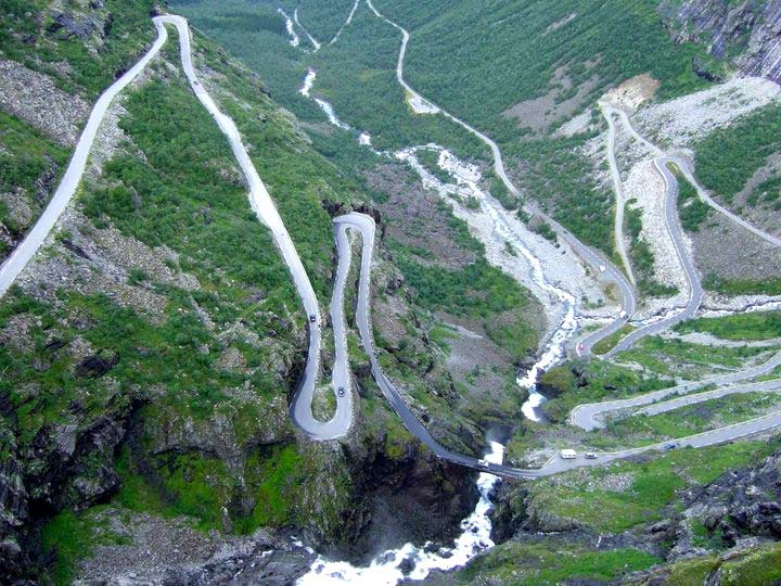 Driving Trollstigen, Norway