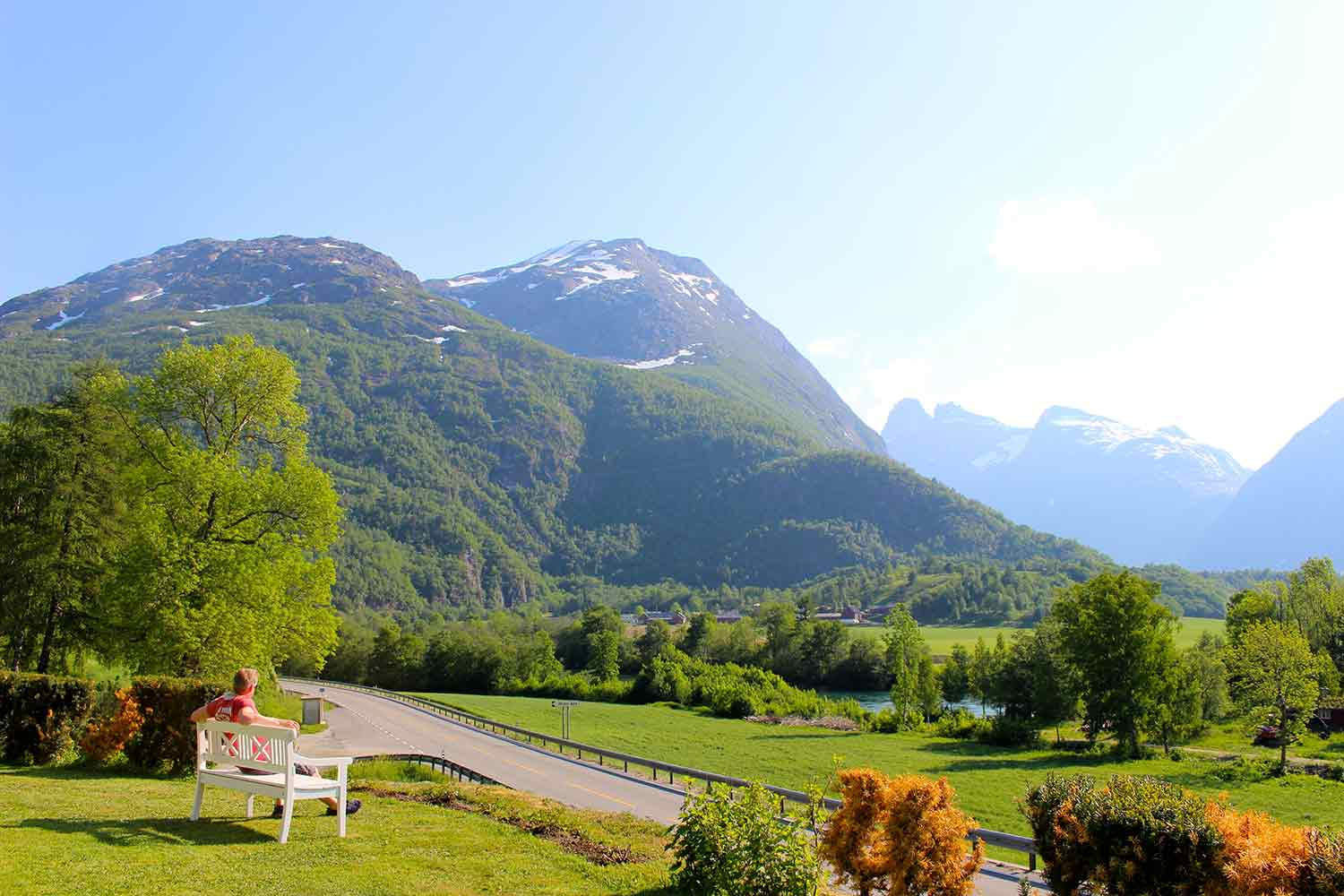Relax in Andalsnes soaking up the views of the Trolls Wall