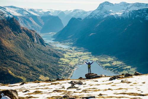 Hiking in Loen Nordfjord