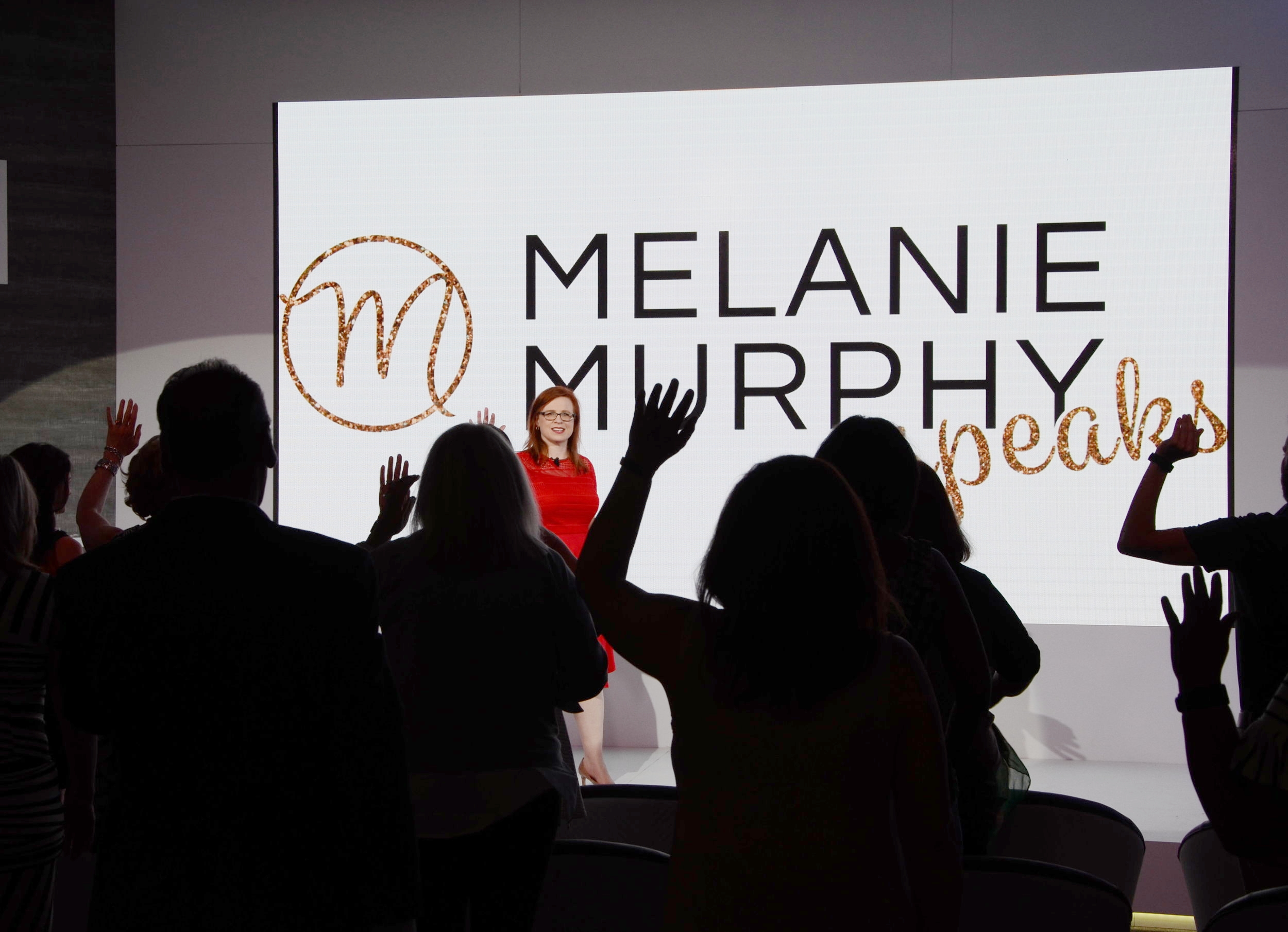- With energy and humor Melanie helps leaders:- Sound CONFIDENT (even when nervous)- Reveal COMPETENCE by sounding smarter- Highlight CAPABILITY with improved verbal performanceTo ultimately stand out and succeed! All products of a strong Voice Image.