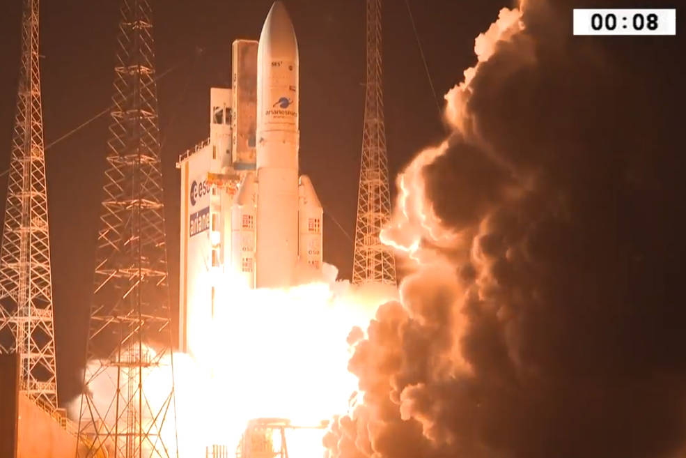 Credits: Arianespace