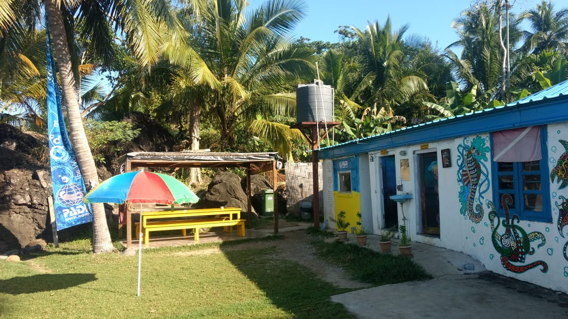 Lacadives dive school in Chidiya Tapu, Andaman and Nicobar islands
