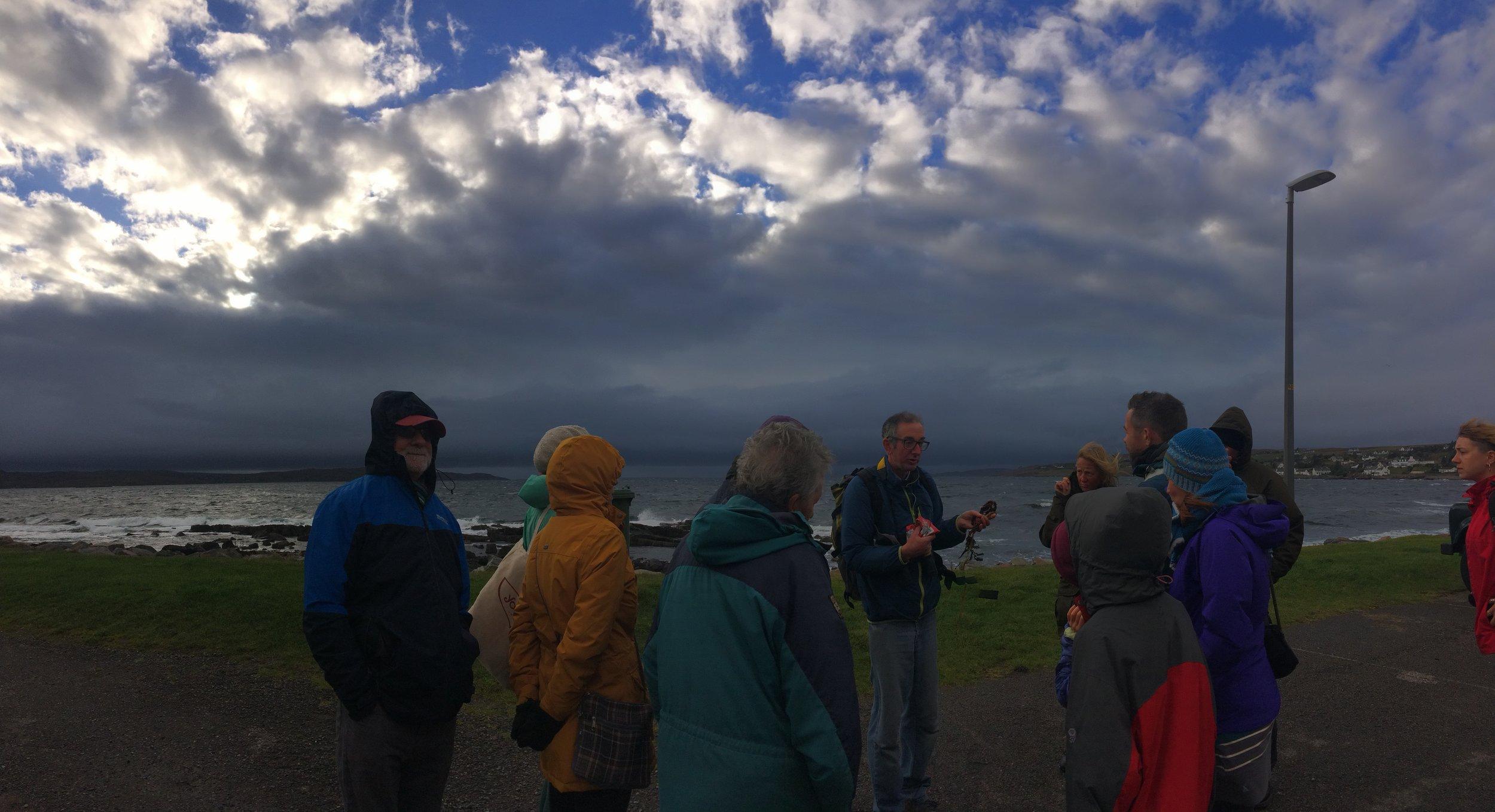 Threatening skies over Loch Gairloch