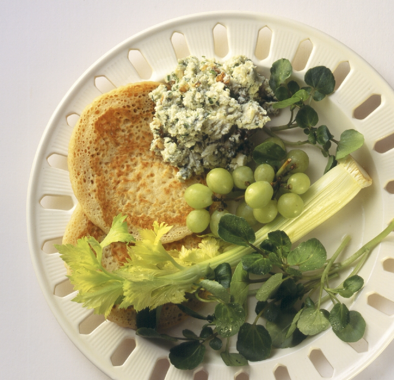 Stilton and Walnut Pikelets with Watercress.jpg