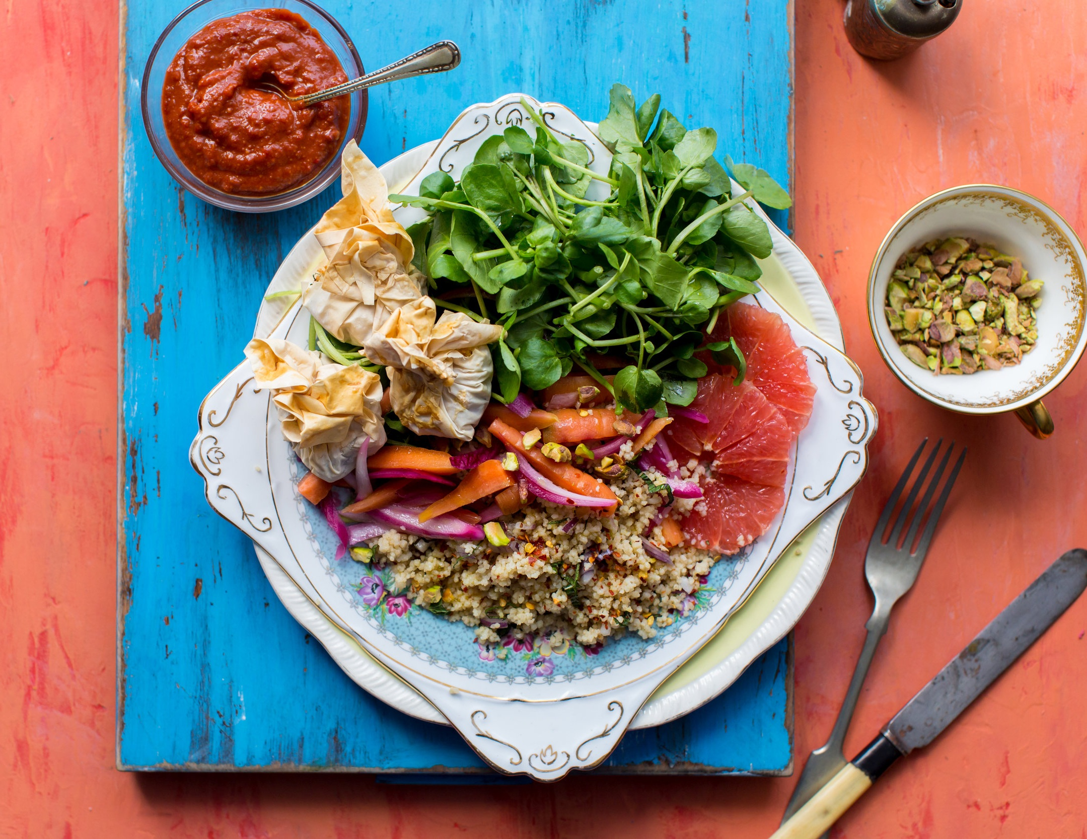 Moroccan+Couscous+Salad+with+Feta+Parcels%2C+Watercress+and+Harissa+Yoghurt+2.jpg