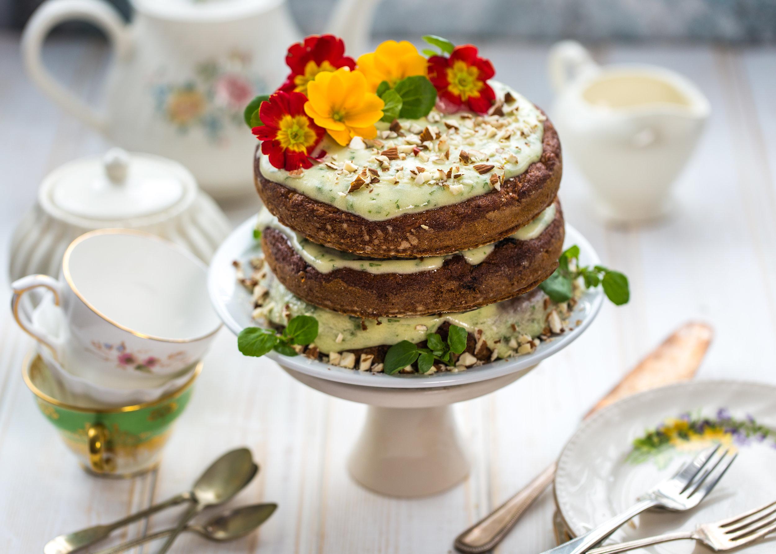 Watercress carrot cake vegan mothers day afternoon tea landcsape.jpg