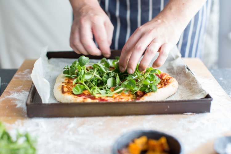 Watercress, blue cheese and butternut squash - the perfect flavour combination!