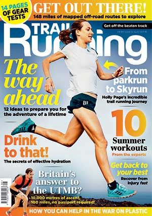 Allie features in the August edition of Trail Running Magazine and discusses her love of watercress