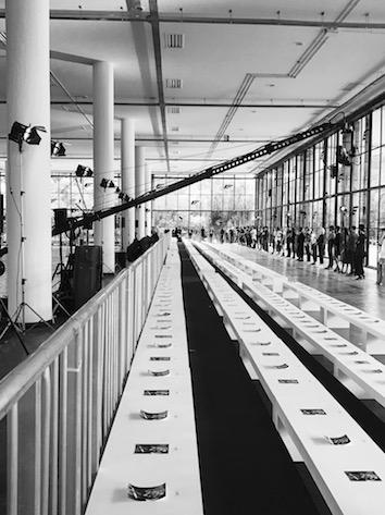 Backstage Ellus Runway Show at São Paulo Fashion Week