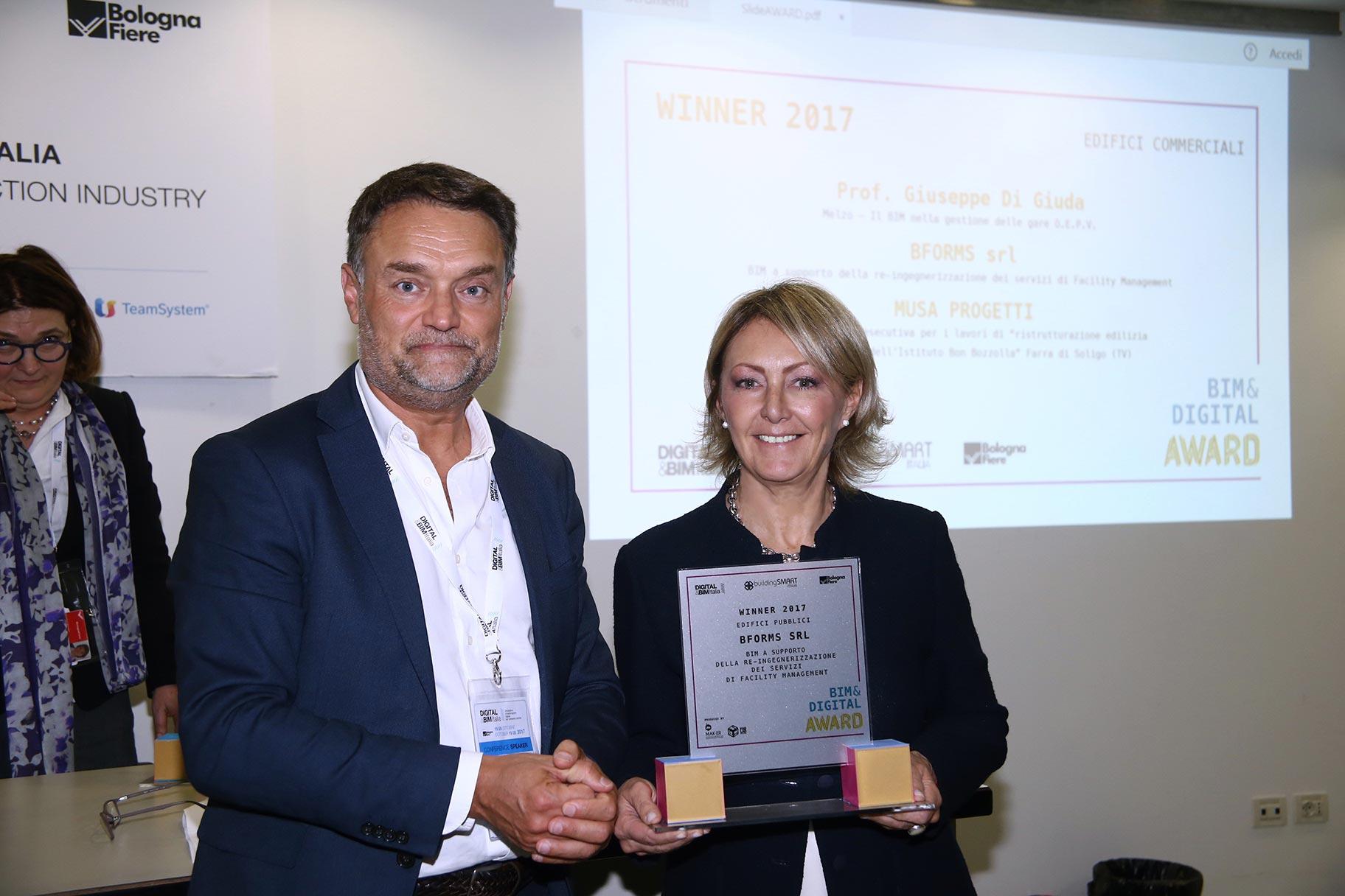 BIM&Digital Award 2017, Bologna